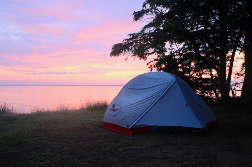 Tips to sleep better on a camping trip