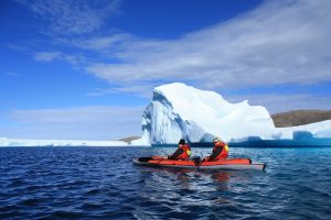 Kayaking Nunavut