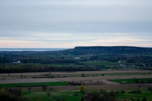 View from the top of Rattlesnake Point