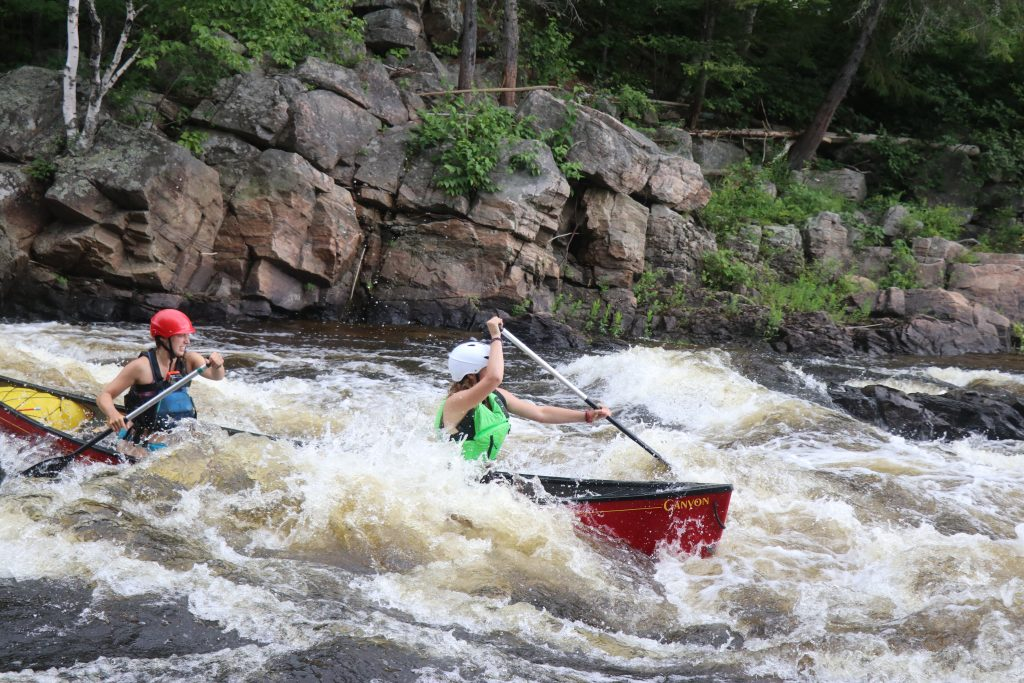 Canoe Guiding on the Noire River