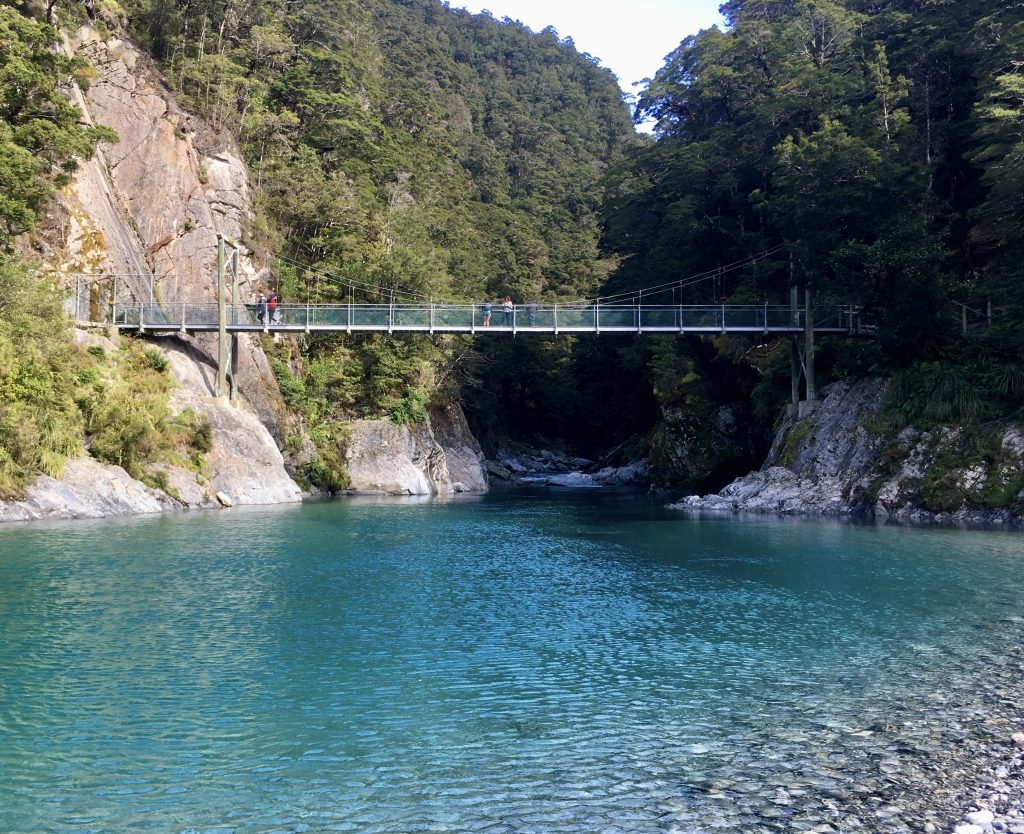 Blue Pools Track near Wanaka