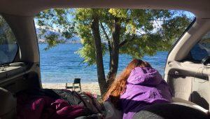 Glendhu Bay Motor Camp View
