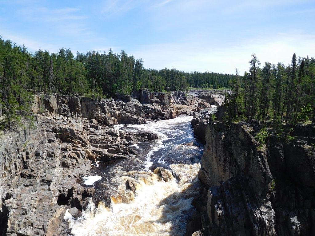 Thunderhouse Falls on the Missinaibi River