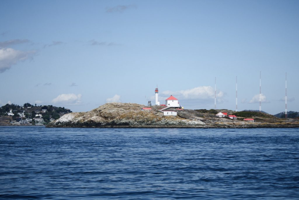 Lighthouse off the coast of Victoria