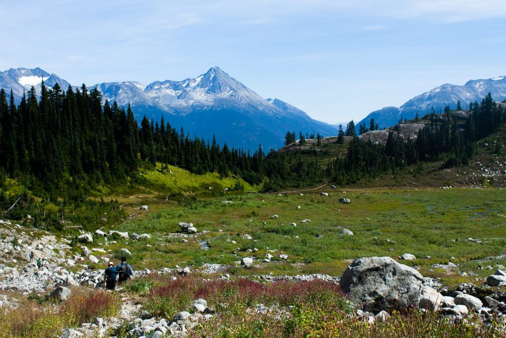 Hiking near Whistler to Iceberg Lake, What to Wear on Hikes