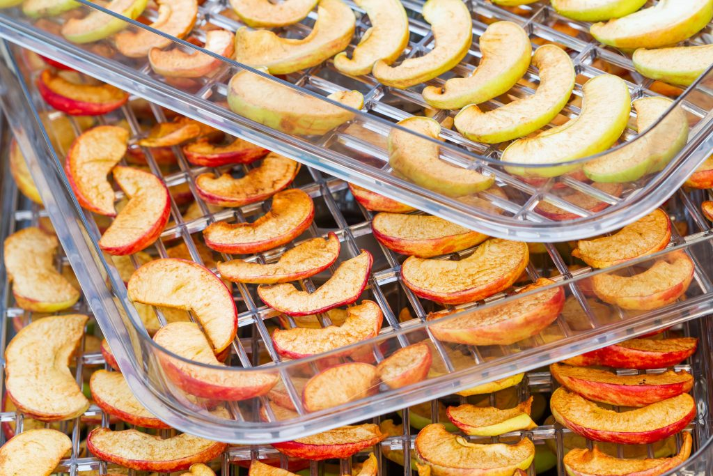 Dried fruit is one of my favourite hiking snacks. You can dehydrate your own at home!